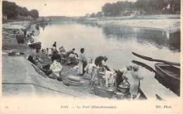 40 - Dax - Le Port, Blanchisseuses (lavandières) - Dax