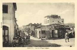 DJIBOUTI Rue Du Village Indigène    RV - Djibouti