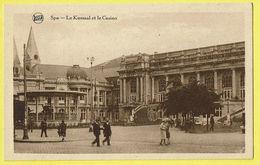 * Spa (Liège - La Wallonie) * (Legia) Le Kursaal Et Le Casino, Kiosque, Kiosk, Animée, Rare, Old, CPA, Unique - Spa
