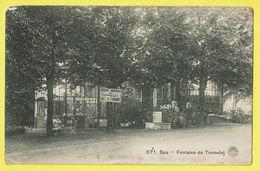 * Spa (Liège - La Wallonie) * (G. Hermans, Nr 671) Fontaine Du Tonnelet, Source Minerale, Café, Restaurant, TOP - Spa