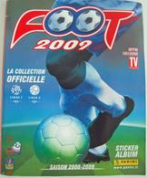 CATALOGUE PANINI Quasi NEUF SAISON 2008-2009  Football Avec 6 Photos Gignac, Remy,... PSG, OM +++ - Trading Cards