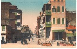 POSTAL   PORT SAID  -EGIPTO  - ARAB TOWN  (CIUDAD ARABE) - Puerto Saíd