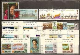 1970 Jersey  ANNATA  YEAR Di 23 V. (20/42) MNH** - Jersey
