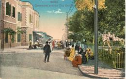 POSTAL   SUEZ  -EGIPTO  -GOVERNORAT AND THE CITY GARDEN  (GOVERNORAT Y EL JARDIN DE LA CIUDAD) - Suez