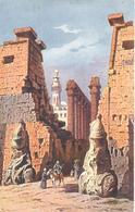 POSTAL   LUXOR  -EGIPTO  - TEMPLO EN LUXOR - Luxor