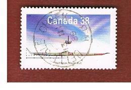 CANADA - SG 1317   - 1989 NATIVE CANOE: INUIT KAYAK        -   USED - 1952-.... Règne D'Elizabeth II