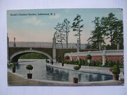USA - Lakewood, N.J. - Gould`s Sunken Garden - No.6004 - Other