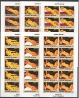 V628 !!! IMPERFORATE 2005 GUINE-BISSAU ART PINTURA AMADEO MODIGLIANI 10SET MNH - Art
