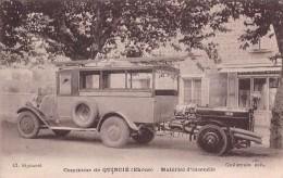 69 COMMUNE  DE QUINCIE MATERIEL D INCENDIE / CAMION / EDITION GUILLERMIN - Andere Gemeenten