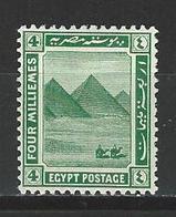 Ägypten SG 88, Mi 66 * MH - 1915-1921 Protectorat Britannique