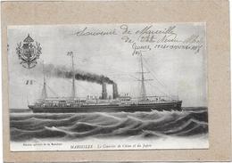MARSEILLE - 13 -  Le Courrier De Chine Et Du Japon - ROUIL** - - Vieux Port, Saint Victor, Le Panier