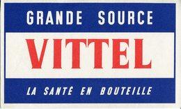 BUVARD VITTEL - Buvards, Protège-cahiers Illustrés