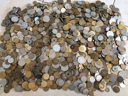 GROS LOT  De 9 Kilos ( Kilo ) De Pièces Françaises ( Monnaie France ) - Coins & Banknotes
