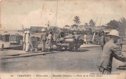 ¤¤    -   MADAGASCAR   -  TAMATAVE  -  Débarcadère  -  Magasin Généraux  -  Phare De La Pointe Hastré - Madagascar