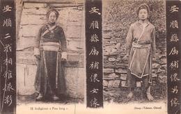 """¤¤    -  CHINE   -   Indigènes """" Pou Long """"     -   ¤¤ - Chine"""
