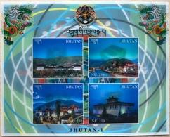 BHUTAN Commemoration Of The Launch Of Satellite Bhutan-1 3D Sheetlet - Bhutan