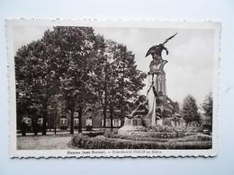 HAMME ( Aan Durme) Standbeeld 1914-1918 En Statie -- NO  REPRO - Hamme