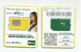 MADAGASCAR MADAGASKAR  Carte SIM NEUVE 4G  /  MALAGASY NEW SIM Card TELMA MADAGASCAR - Madagascar