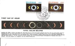 Philippines - Eclipse De Soleil ( FDC De 1988 à Voir) - Philippinen