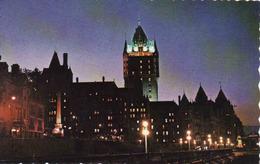 Canada > Quebec > Québec - Château Frontenac, A La Brunante, Nuit, Used - Québec - Château Frontenac