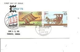 Philippines - Capex 1978 ( FDC De 1978 à Voir) - Philippines