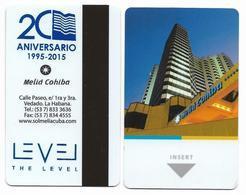 Meliá Cohiba, Habana, Cuba, Used Magnetic Hotel Room Key Card # 31d - Hotel Keycards