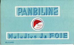 BUVARD Laboratoire De La PANBILINE ANNONAY Ardèche Maladie Du Foie - Produits Pharmaceutiques