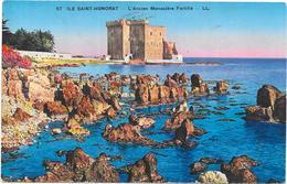 ILE SAINT HONORAT - CPA COLORISEE - L'Ancien Monastère - ROUIL** - - Autres Communes