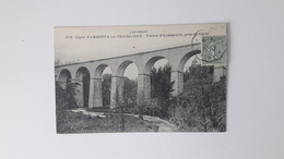 Ligne D'AMBERT à La CHAISE DIEU  (63)  Viaduc D'Aubapayre - Ambert