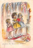 "¤¤  -  ILLUSTRATEUR "" Germaine BOURET ""   -  Petite Image (format 5.5 X 8) De Petite Filles   -  ¤¤ - Bouret, Germaine"