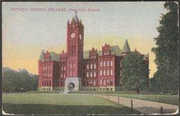 Ontario Normal College, Hamilton, Ontario, C.1910s - Postcard - Hamilton