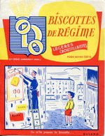 BUVARD ODO Biscottes De Régime Annonay Ardèche - Zwieback