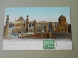 EGYPTE LE CAIRE CAIRO CITADELLE AND MAMELOUK TOMBS - Le Caire