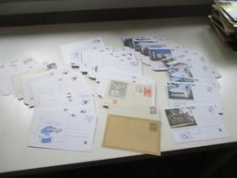 Tschechische Republik Posten GA Karten / BM Ausstellungen / Postfila 1990er Jahre - 2001 Insgesamt 200 Stück Ungebraucht - Collections (without Album)