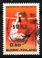 FINLANDE. N°641 Oblitéré De 1970. Jeux Des Invalides Finlandais. - Handisport