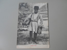IRAN PORTEUR D'EAU  VERSO CARTE POSTALE DE PERSE  PRECURSEUR - Iran