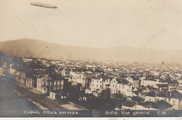 Sofia, Vue Générale - Zeppelin - C 29 - Bulgaria