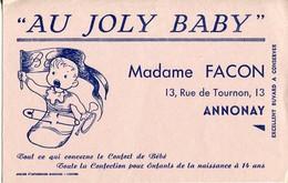 BUVARD AU JOLY BABY Madame Facon 13 Rue De Tournon à ANNONAY Ardèche - Kids