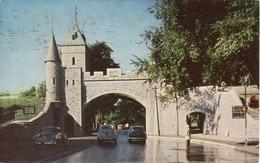 Canada > Quebec > Quebec, St. John Gate, La Porte St. Jean, Car, Used 1955 - Québec – Les Portes