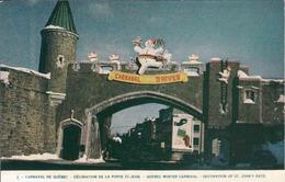 Canada > Quebec > Quebec, St. John Gate, La Porte St. Jean, Carnaval, Used - Québec – Les Portes