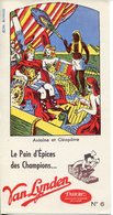 BUVARD Pain D'épices Des Champions VAN LYNDEN - Pain D'épices