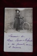 Femme Et Sa Bicyclette - Photographs