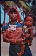 Panama - Îles SAN BLAS - Indienne Kuna Et Son Enfant . - Panama