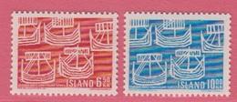 1969 **Islande  (sans Charn., MNH, Postfrish)  Yv  381/2Mi  426/7FA  463/4 - 1944-... Republique