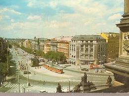 Czechoslovakia & Circulated, Praha, Wenceslas Square, Maputo Moçambique  1977 (6576) - Monumenten