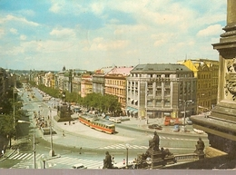 Czechoslovakia & Circulated, Praha, Wenceslas Square, Maputo Moçambique  1977 (6576) - Monuments