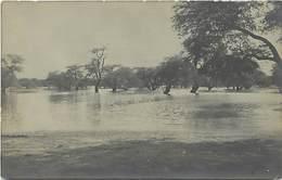 Pays Div : Ref M295- Niger - Carte Photo Inondations - Zinder Juin 1909 - Carte Bon Etat - - Niger