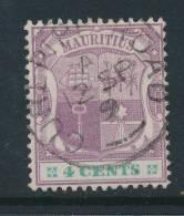MAURITIUS, Postmark CUREPIPE ROAD - Maurice (...-1967)