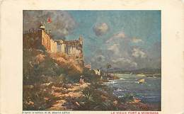 Pays Div : Ref M292- Kenya - Illustrateurs -peinture - Dessin Illustrateur Maurice Levis - Le Vieux Fort A Mombasa  - - Kenya
