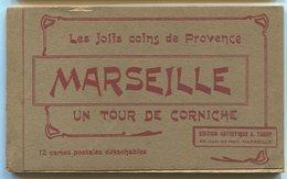 Carnet MARSEILLE Un Tour De Corniche 12 Cartes Détachables - Marseilles